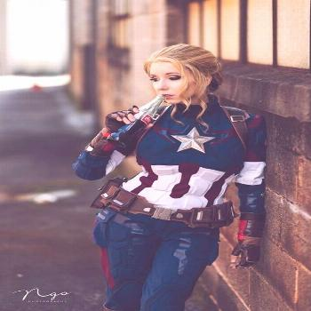 captain america cosplay by riki 'riddle' lecotey photo by H.Ngo photography      captain ameri