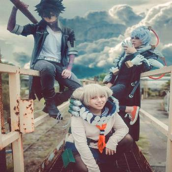 : cosplay -  League of villains from My Hero Academia!  -