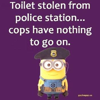 Cops have nothing to go on funny funny quotes minion minion quotes minion saying... Cops have nothi