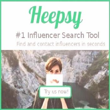 Heepsy | Find influencers worldwide.Find influencers in seconds.Instant access to influencers by lo