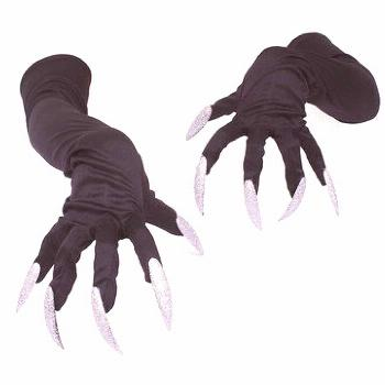 Long Nails Gloves Halloween Hollowen Cosplay Props Suits Sleeves Paws Performance Sleeves Long