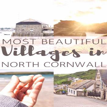 Most beautiful villages in North Cornwall you won't want to miss! Towns, villages and hamlets in Co
