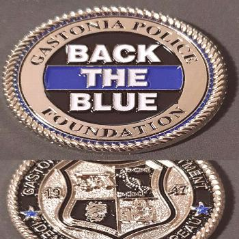 Police Challenge Coins made by Phoenix Challenge Coins As we close out the day our wanted to share