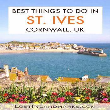 Things to do in the seaside town of St Ives in Cornwall, England UK. This beautiful Cornish village