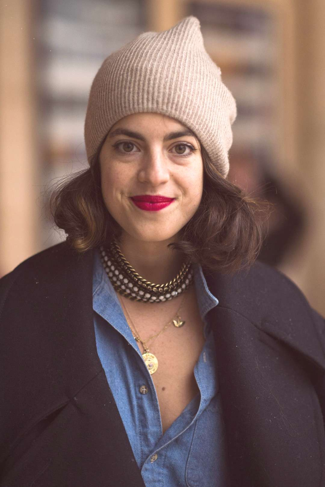 Beauty Street Style: Soak Up Some Inspiration With These NYFW Snaps Leandra Medine, aka the Man Rep